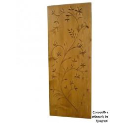 Tableau en bois sculpté