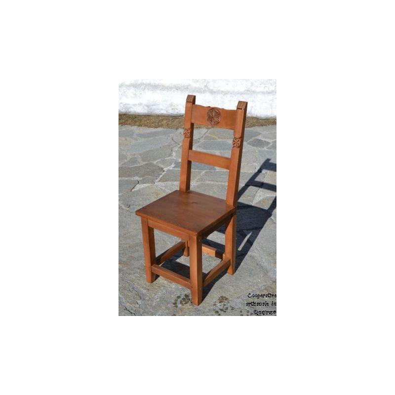 chaise bois sans sculpture. Black Bedroom Furniture Sets. Home Design Ideas