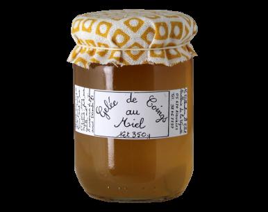 Gelée de coings au miel