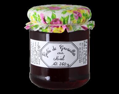 Gelée de groseilles au miel