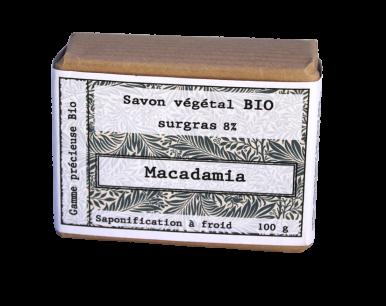 Savon biologique macadamia