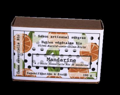 Savon biologique mandarine