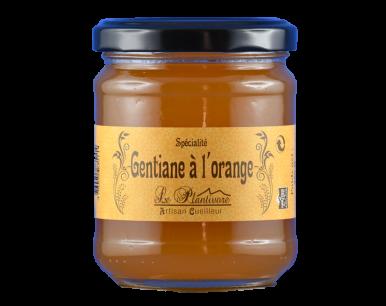 Gelée de gentiane à l'orange