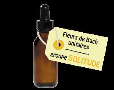 """Fleurs de Bach unitaires - """"SOLITUDE"""""""