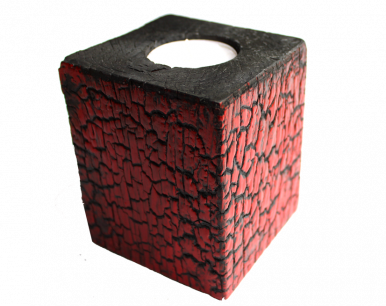 Bougeoir cube cRAKoU