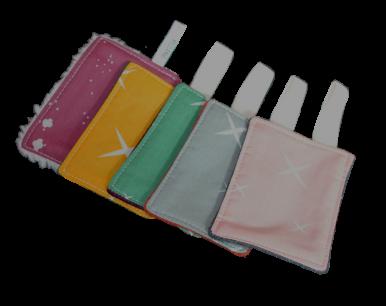 5 Cotons démaquillants lavables