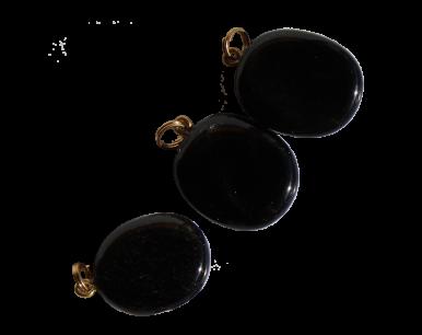 Médaillon en Obsidienne