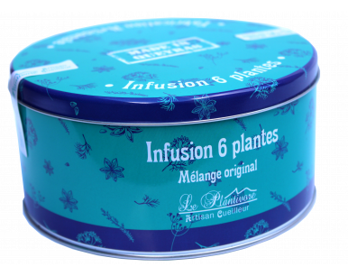 Infusion 6 plantes boite collector
