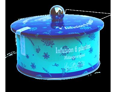 Infusion 6 plantes boite knob collector
